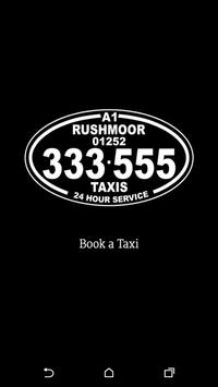 A1 Rushmoor Taxis poster