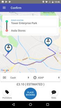 Bluestar Taxis apk screenshot
