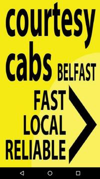 Courtesy Cabs poster