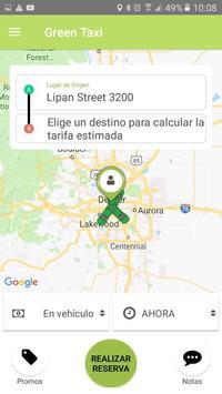 Green taxi apk screenshot