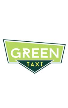 Green taxi poster