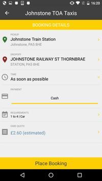 Johnstone TOA Taxis apk screenshot