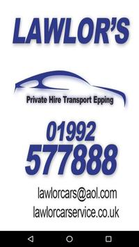Lawlor Car Services poster