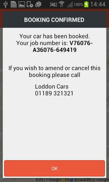 Loddon Cars Reading Taxi screenshot 3