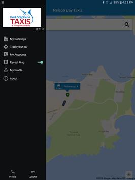 Port Stephens Taxis apk screenshot