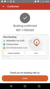Phoenix Taxis Rotherham apk screenshot