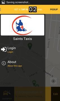 Saints Taxis St Helens apk screenshot