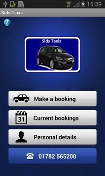 Sids Taxis poster