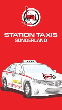 Station Taxis poster