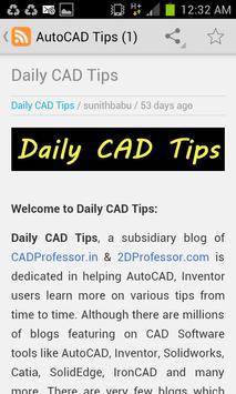 AutoCAD Tips screenshot 3