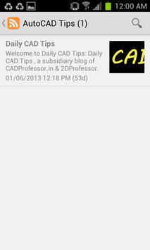 AutoCAD Tips screenshot 1