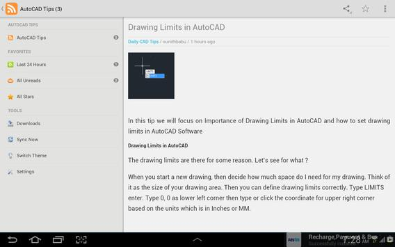 AutoCAD Tips screenshot 5
