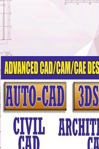 AutoCAD Learning App Autocade Video Tutorial 2D 3D for