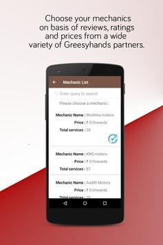 Greesyhands - Bike service App apk screenshot