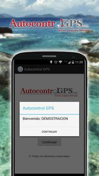 Autocontrol GPS poster