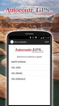 Autocontrol GPS apk screenshot