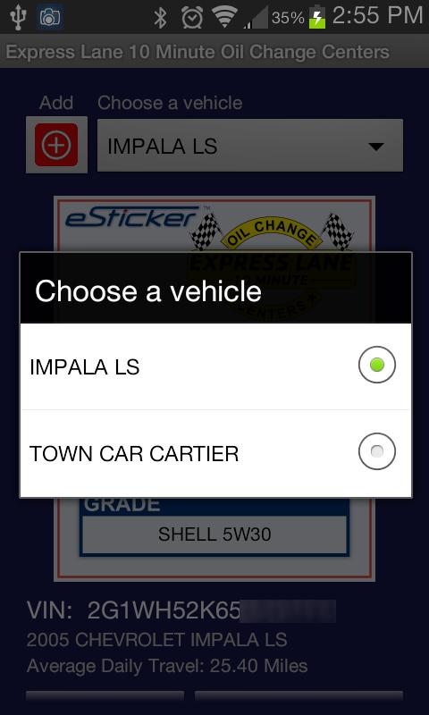 Express Lane 10 Min Oil Change for Android - APK Download