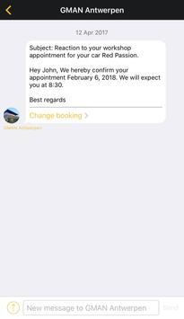 GMAN - mobility organiser apk screenshot