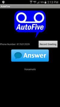 Auto Five screenshot 1