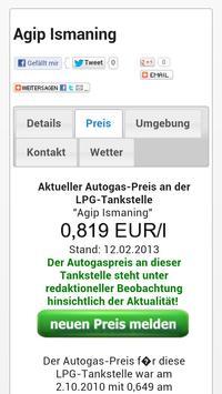 Autogasvergleich.de WebApp LPG screenshot 3
