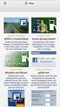 Autogasvergleich.de WebApp LPG poster