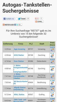 Autogasvergleich.de WebApp LPG screenshot 1