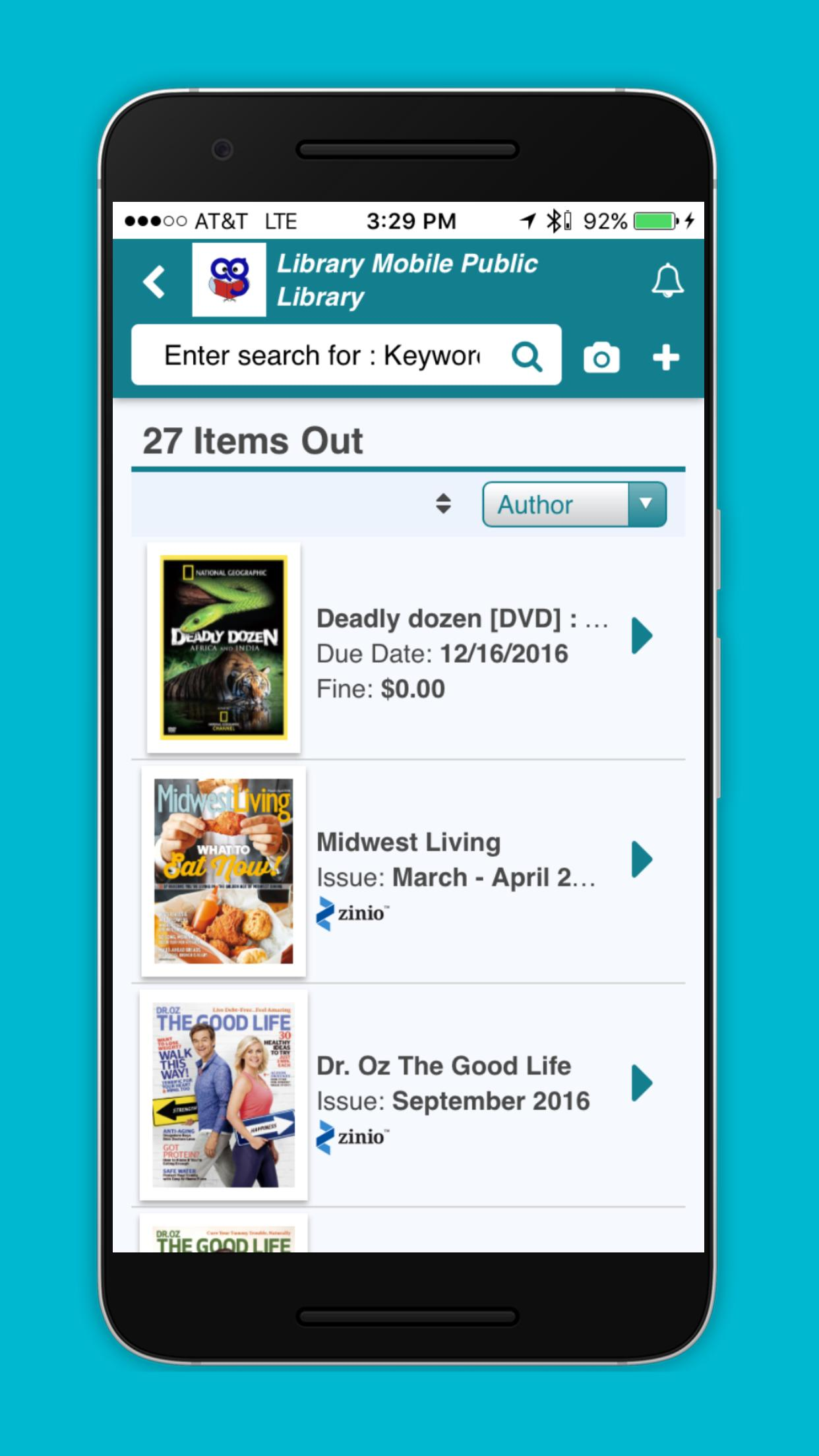 Auto-Graphics Library Mobile for VERSO poster