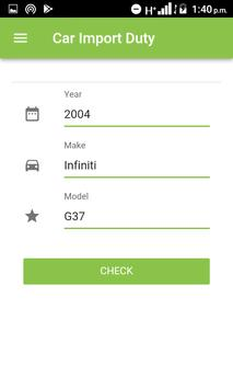Nigerian Car And Vehicle Import Duty- By Autojosh apk screenshot