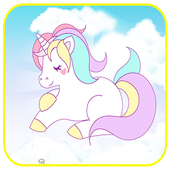 Unicorn : Coloring pages icon
