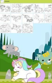 Unicorn : Coloring pages apk screenshot