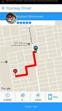 Yourway Driver apk screenshot