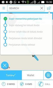 New Go Taxi Supir apk screenshot