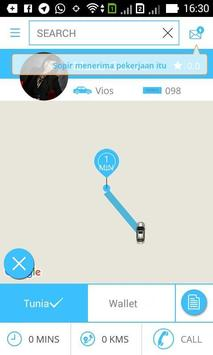 New Go Taxi Penumpang apk screenshot