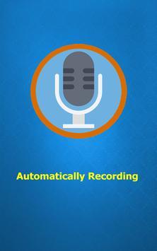 Auto Calls recording poster