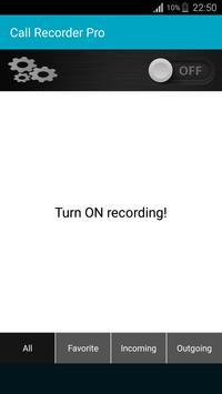 Automatic Call Recorder 2017 screenshot 1