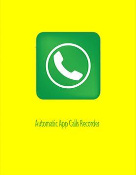 automatic app calls recorder poster