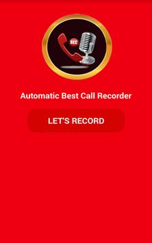 Automatic Best Call Recorder poster