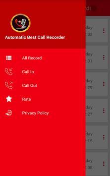 Automatic Best Call Recorder screenshot 1