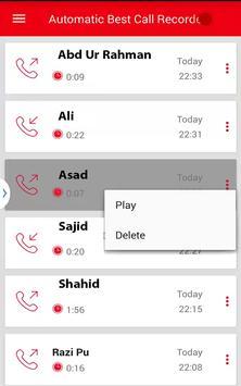 Automatic Best Call Recorder screenshot 2