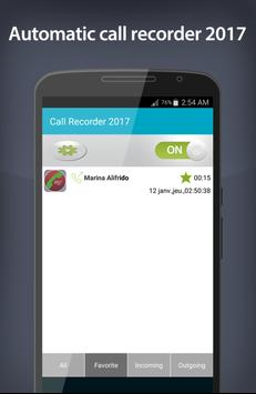Automatic Call Recorder 2017 screenshot 4
