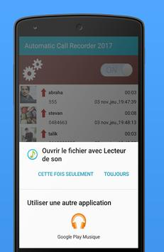 Autoamtic Call Recorder 2017 screenshot 5