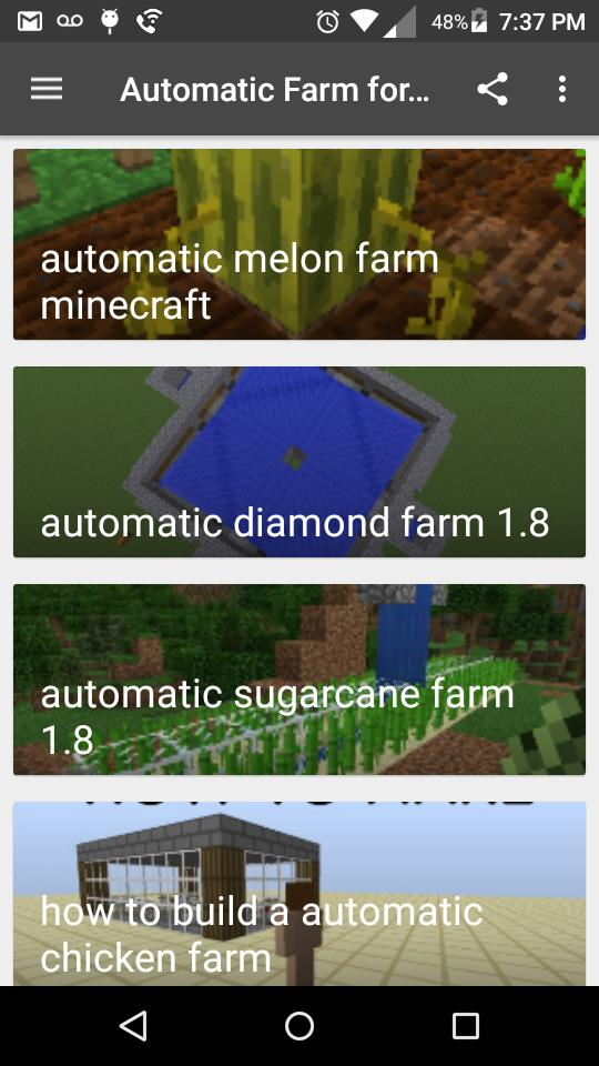 Automatic Farm for MC for Android - APK Download