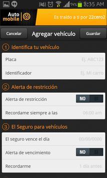 AutoMobile - Pico y Placa screenshot 1