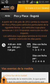AutoMobile - Pico y Placa screenshot 4