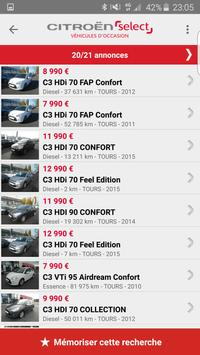 Citroën Select Occasions apk screenshot