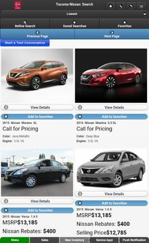 Tacoma Nissan screenshot 7