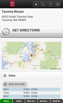 Tacoma Nissan screenshot 4