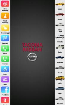 Tacoma Nissan screenshot 5