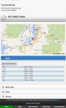 Tacoma Nissan screenshot 9