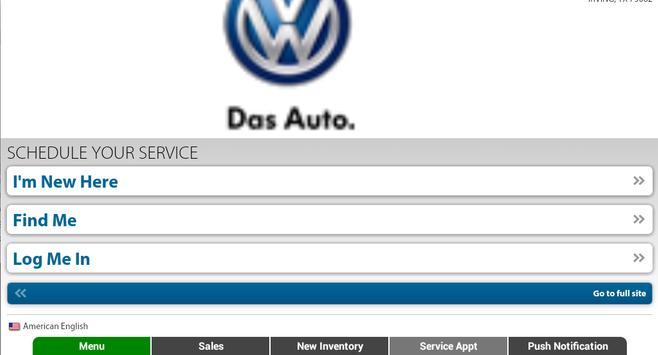 Volkswagen Kearny Mesa apk screenshot